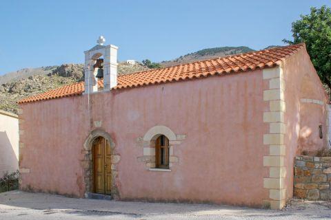 Sfakia: A colorful chapel