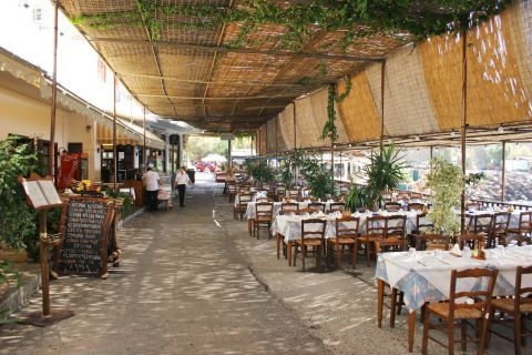 Sfakia: Traditional taverns.