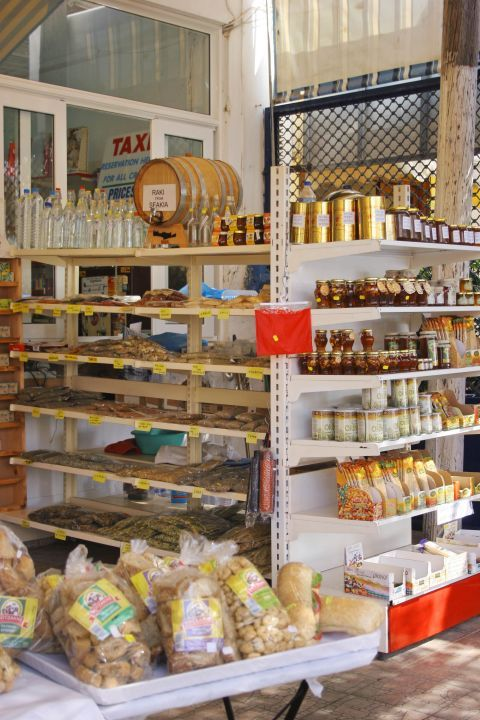 Sfakia: Traditional products.