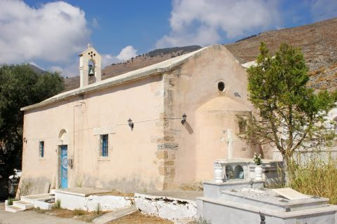 Sfakia: A small church in Sfakia.