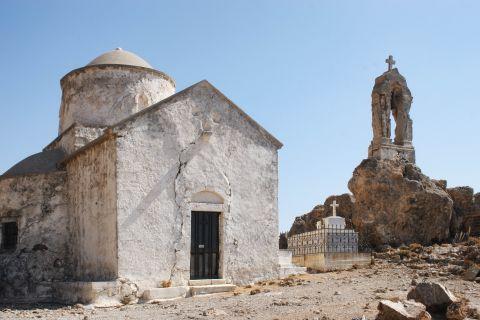 Sfakia: Byzantine church in Sfakia, dedicated to the Twelve Apostles.