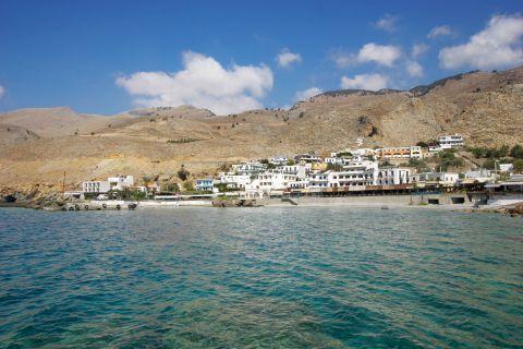 Sfakia: Approaching the port of Sfakia.
