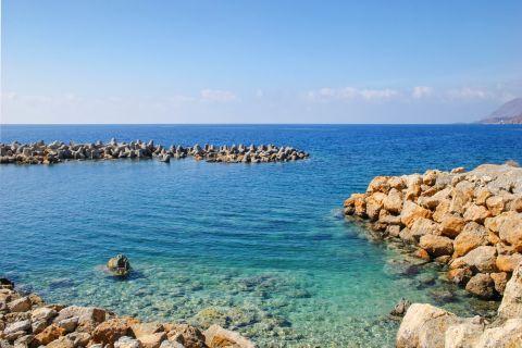 Sfakia: Relaxing sea view from Sfakia.