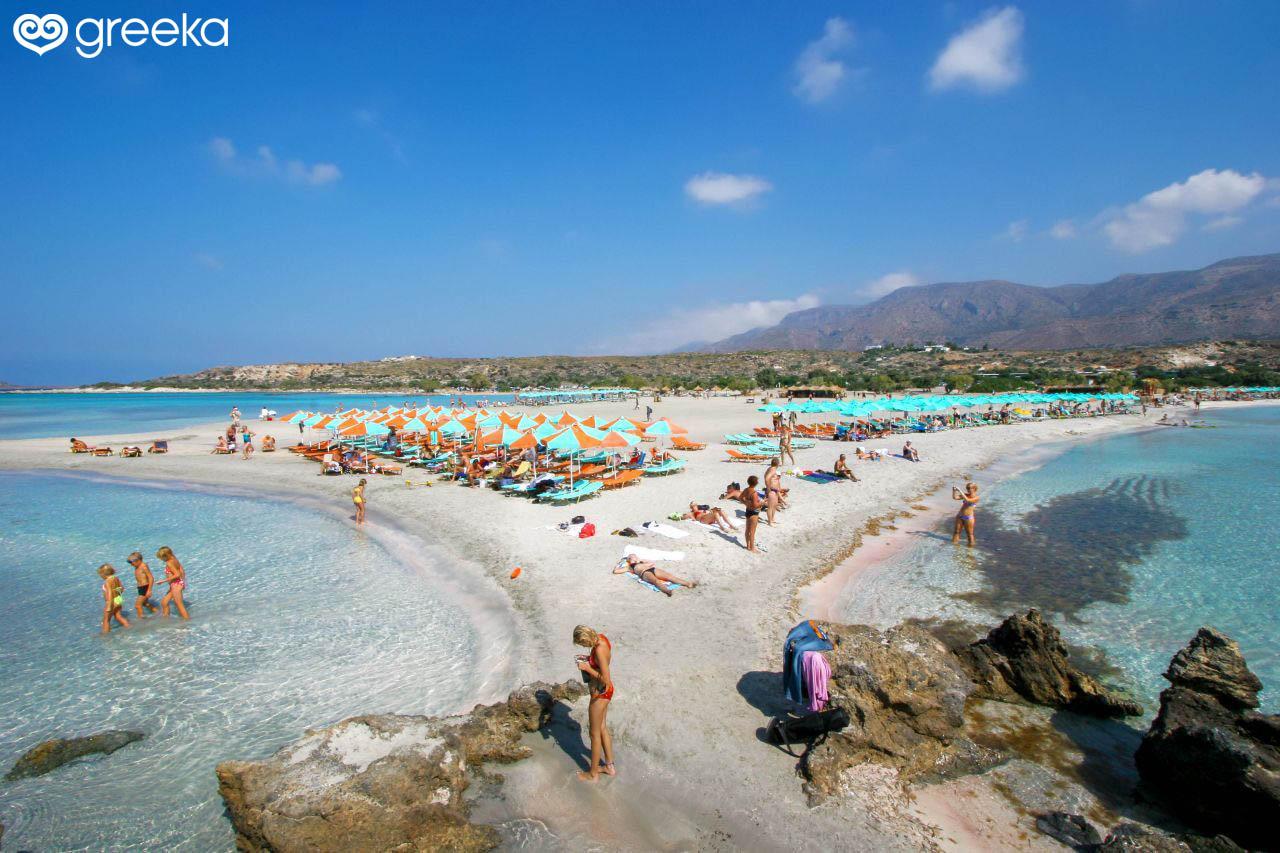 07a931e9550920 Elafonisi Beach in Chania | Chania Beaches - Greeka.com