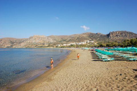 Pahia Ammos: Sandy beach and blue waters