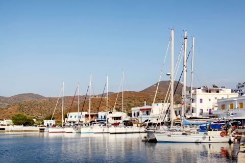 Katapola: At the small port of Katapola