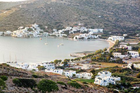 Katapola: The bay of Katapola