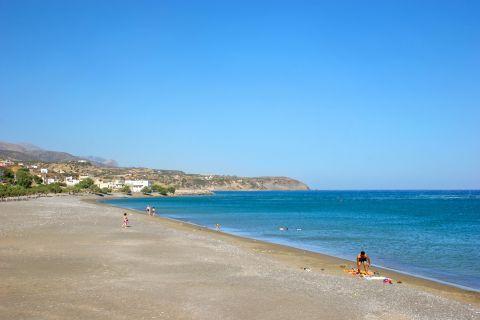 Tsoutsouros: Tsoutsouros beach
