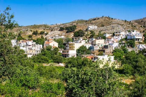 Anogia: Anogia village.