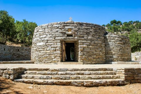Anogia: Agios Iakinthos in Anogia village.