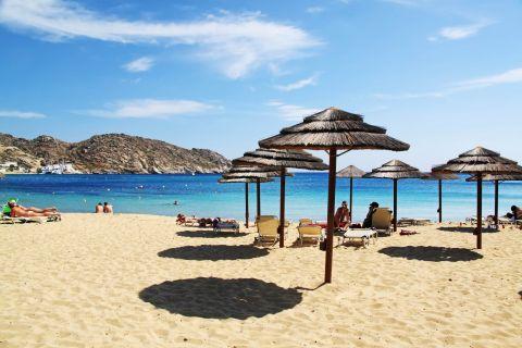 Mylopotas: Mylopotas is a partly organized beach