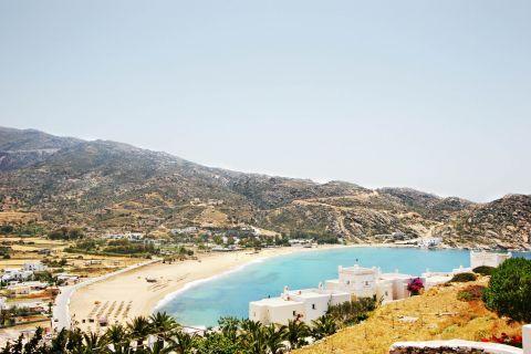 Mylopotas: View of Mylopotas bay.