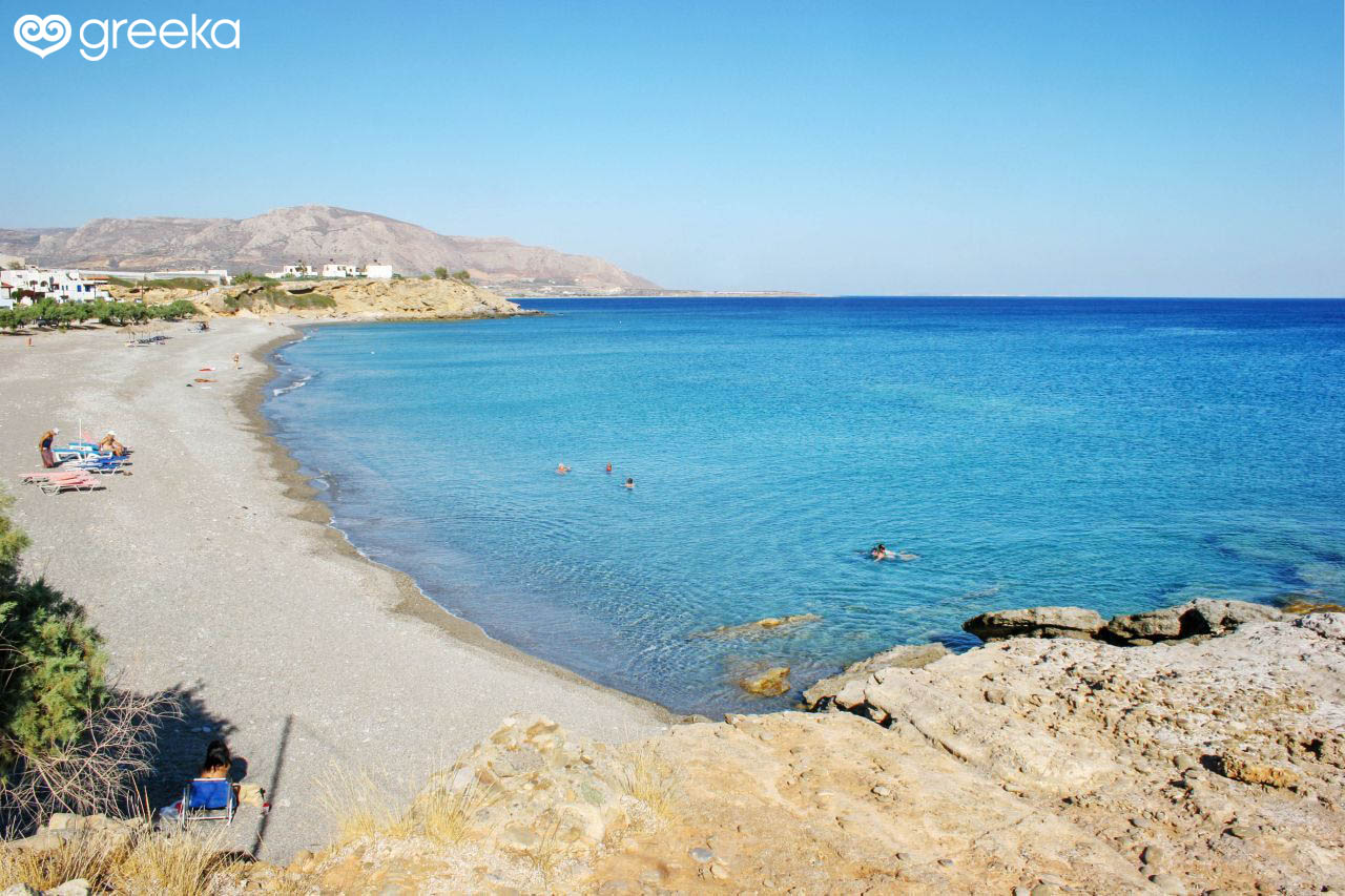 Lassithi Makrigialos beach - Lassithi Beaches | Greeka.com