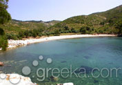 Thassos Beach next to Alyki