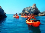 Sea Kayak Day Tours Around Milos